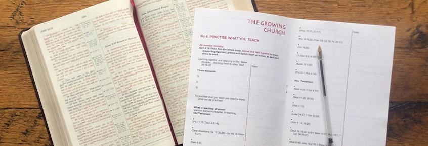 Resources - for individuals, small groups and churches