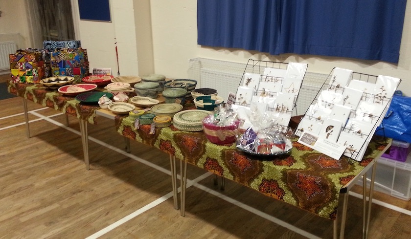 Ubushuti stall at ladies craft event in Tamworth