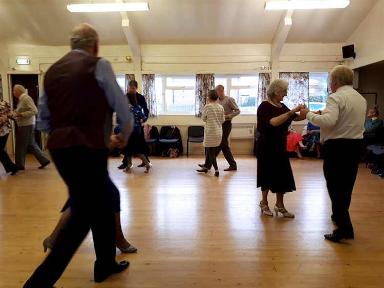 Fund-raising tea dance for Rwanda held in Melbourne, near Pocklington.